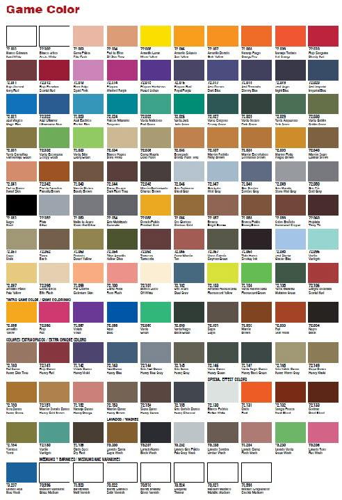Av Vallejo 72022 Game Colour Ultramarine Blue 17ml Av72022