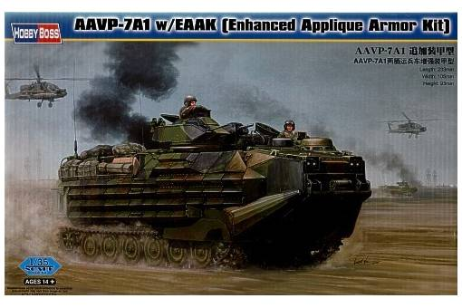 Hobbyboss 82414 1:35th scale aavp 7a1 with eaak enhanced applique