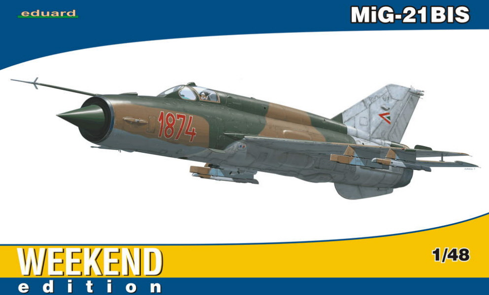 Eduard 84131 Weekend edition 1:48th scale MiG-21BIS Hungarian Air Force